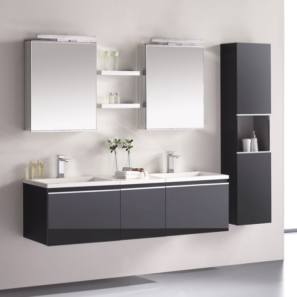 eago badm bel milano me 1600 dunkelgrau 160x45 im online. Black Bedroom Furniture Sets. Home Design Ideas
